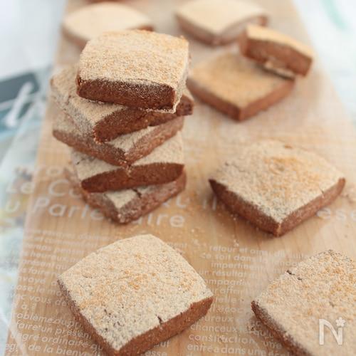 きなこのほろほろクッキー§すごく簡単!米粉でもOK!