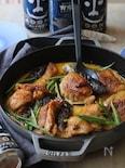 茄子と鶏肉のカレークリーム煮。
