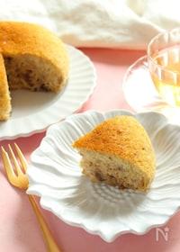『炊飯器で簡単!卵・小麦不使用の米粉バナナケーキ』