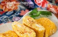 卵焼きバリエ*カニカマ入り中華風