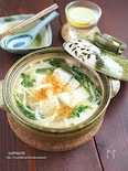 一手間で豆腐ぷるっぷる!白だしあんの湯豆腐