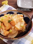 しみしみで美味しい♡大根と油揚げで韓国風おでん♡