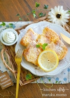 中までしっとり!チーズ―ケーキ風フレンチトースト
