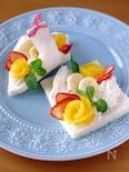 花束みたいなフルーツ&デザート風☆サンドシナイッチ