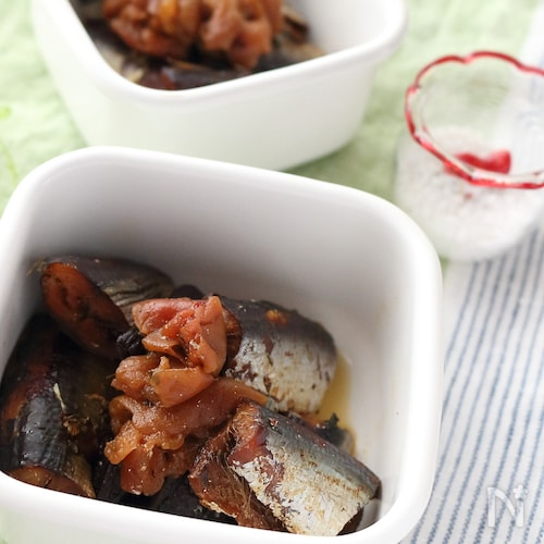 いわしの梅酢煮(圧力鍋使用)