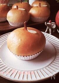 『レンジ発酵であっという間に♪ふわんふわんのりんごパン♪』