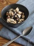 簡単おつまみ、豆腐とひじきの桜海老炒め