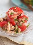 【トマトよりおいしいその3】トマトとツナのさっぱり大葉マリネ