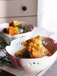 レンジで簡単♡カボチャとツナのやみつき中華煮