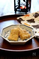 レンジで簡単・川通り餅。