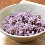 美味しい黒米の炊き方