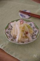 1/4個ペロリ!ラーパーツァイ(白菜の中華風ピリ辛甘酢漬け)
