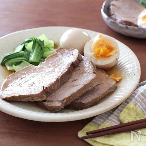 はちみつと酢でやわらか煮豚~肉塊は男のロマン~