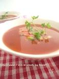 10分で♪エンザエムたっぷりトマトスープ