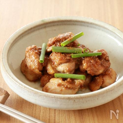 鶏肉の山椒味噌焼き