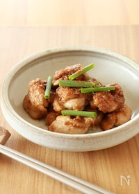 『鶏肉の山椒味噌焼き』