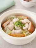白菜と鶏ささみの中華おでん