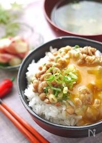 『一番おいしい納豆の食べ方☆混ぜる順番がミソ』