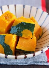 『レンジでラクラク♪ホクホク濃厚〜♪『かぼちゃの塩バター蒸し』』