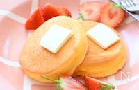 ふわしゅわとろけるー♪スフレパンケーキ