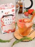 【身体ポカポカ♪】イチゴとスパイスのハチミツ茶