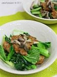 練り物と小松菜の炒め物②。