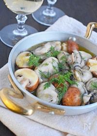 『牡蠣のオイル煮』