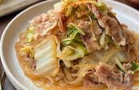 甘辛味が人気♪豚バラと白菜の旨煮
