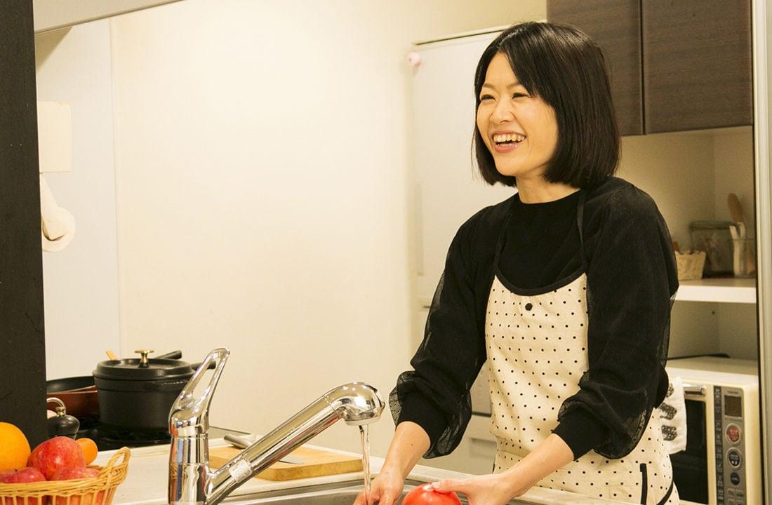 子どもと一緒に楽しむ、 ほっとする料理を作り続けたい