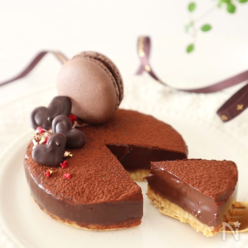 タルト 生 焼 かない チョコ