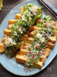 ゴーヤと香味野菜のさっぱりピリッと美味しい厚揚げマリネ風