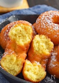 『【簡単】焼き芋ドーナツ』