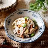 『根菜たっぷり』ひじきと彩り野菜のごまマヨサラダ