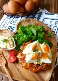 『デビル👿チキン南蛮〜ダブル卵タルタルソース』