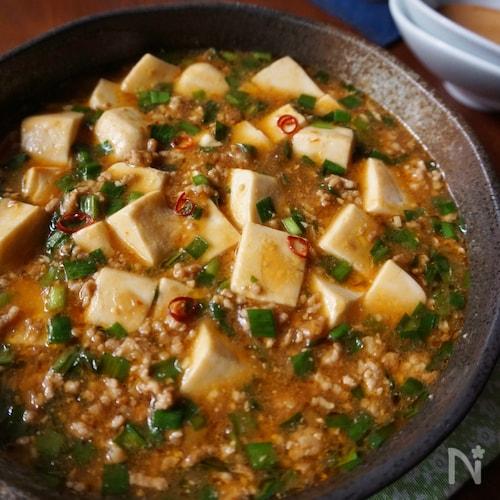 婆 レシピ 人気 麻 豆腐