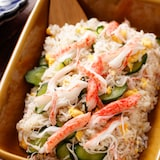 カニかまときゅうりの簡単ちらし寿司【#ひな祭り#仕込み不要】