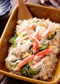 『カニかまときゅうりの簡単ちらし寿司【#ひな祭り#仕込み不要】』