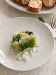 白と緑の野菜のテリーヌ