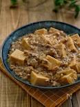 *高野豆腐とひき肉のとろみ煮*