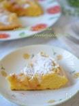フライパンで作れる簡単おやつ☆甘酸っぱいリンゴのケーキ☆