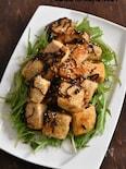 塩昆布タレが絡む!旨味たっぷり♪豆腐と塩昆布のソテー