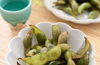 【秋の黒枝豆シーズンに!】美味しい蒸し焼き枝豆