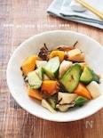 【作り置き】野菜ときのこの塩昆布マリネ