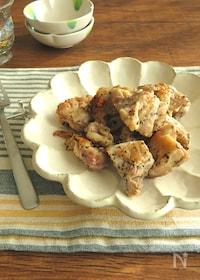『フライパン1つで簡単☆鶏もも肉の旨味バジルソテー』