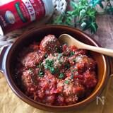 『お弁当おかずシリーズ』ミートボールのトマト煮込み
