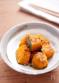 『レンジで美味しくできる!かぼちゃの煮物』
