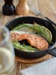 鮭とフェンネルのオーブン焼き。パーティーやおもてなしに!