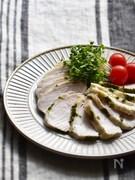 【工程5分】セロリの葉deサラダチキン(冷凍保存・作り置き)