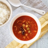 ポリ袋で2品同時に防災食☆白ごはん&ツナとお豆のトマトカレー