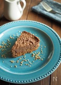 『FPで簡単!焼かないチョコケーキ』